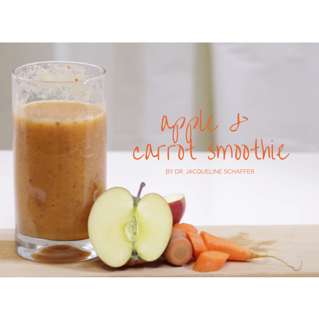 Jacqueline Schaffer smoothie for healthy skin