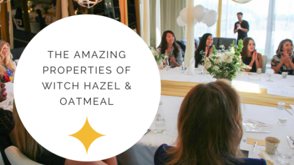 Jacqueline Schaffer Properties Of Witch Hazel & Oatmeal