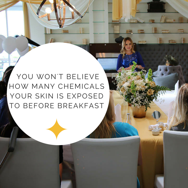 Jacqueline Schaffer explains chemicals your skin is exposed to.