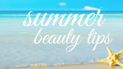 Dr. Jacqueline Schaffer gives summer beauty tips